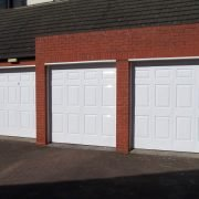 Garage doors after Revampz garage door refurbishment