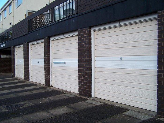 Garage Door Restoration Using Abs Fascias Fylde Garage Door