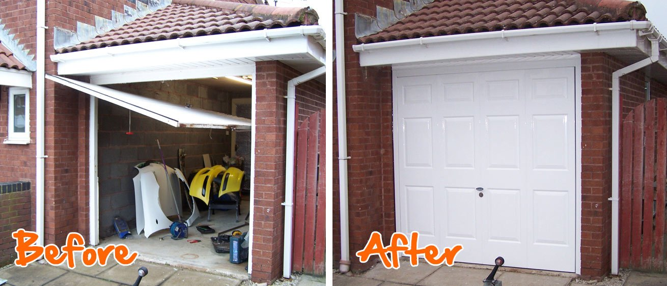 Garage Door Broken Cable Replacement Blackpool Fylde