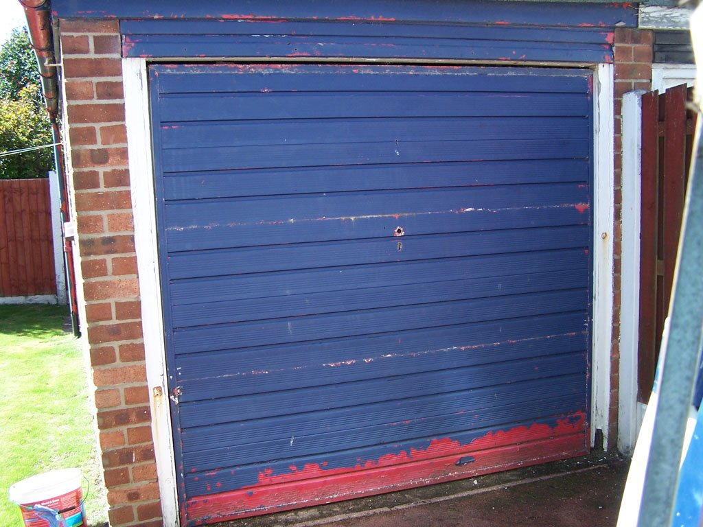 Lytham St Annes garage door